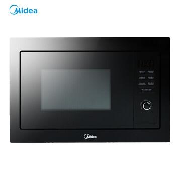 美的(Midea)埋め込み電子レンジ光波炉家庭用大容量埋め込み式25 Lマイクロ蒸しオーブン一体