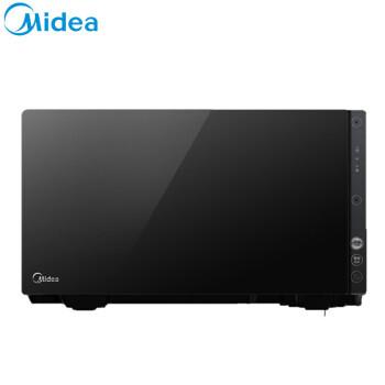美的(Midea)音声電子レンジ、ダブルスマートチップ、ダブルマイク、4.0周波数変換レシピブラック