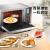 美的(Midea)電子レンジ蒸しオーブン一体家庭用周波数変换器インテリジェント蒸キューブ光波炉