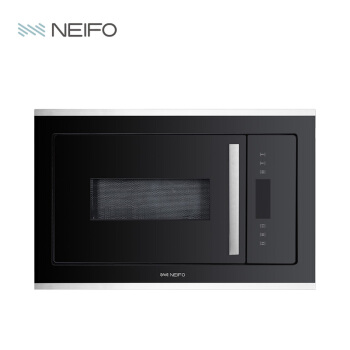 内芙(Neifo)全触控式電子レンジ25 Lワンタッチで自動的にブラックMO 25 BIXを調理します。