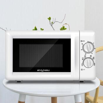 WEILI/威力家庭用電子レンジのミニスマートボタンディスプレイの新型回転盤の販促電子レンジの01威力機