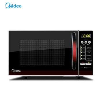 美的(Midea)光波灸焼き20 L大容量家庭用キッチンプレート電子レンジ黒