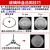 グランス電子レンジガラス回転盤トレイの直径24.5/27/31.5 cmフラット/Y型底直径24.5 cm Y型底の公式標準装備を適用します。